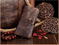 Мужской кожаный кошелек-портмоне Joyir