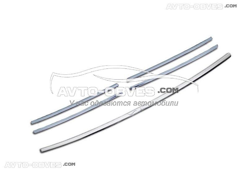Накладки на радиаторную решетку для Mercedes ML w164