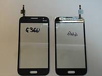 Сенсор Samsung G360 orig + самоклейка Galaxy Core Prime Grey