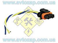 Колодка (инжектор) модуля зажигания (дв. 1,6 - 3 контакта) с проводами (Торнадо) х