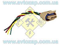 Колодка (инжектор) модуля зажигания (дв. 1,5 - 4 контакта) с проводами (Торнадо) х