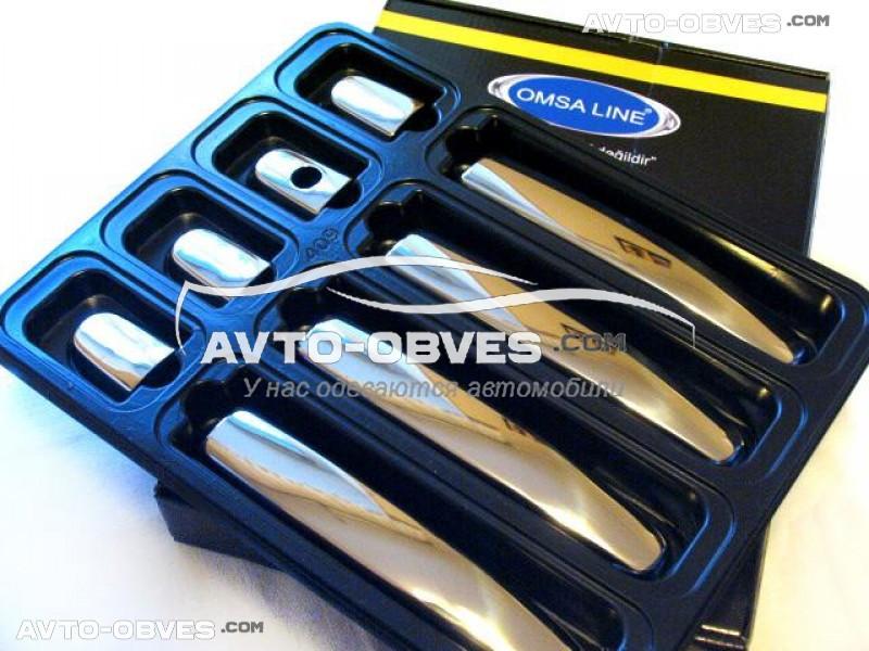 Накладки на ручки открывания дверей Mitsubishi L200