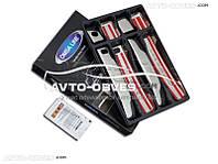 Накладки на ручки открывания дверей Nissan Qashqai 2+ (под чип)