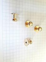 Шпилька C3083 кобурная золото