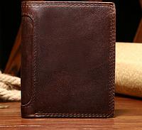Мужской кошелек-портмоне Joyir из натуральной  кожи