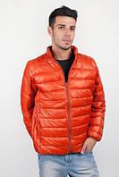 Куртка мужская, ветровка стеганая №225KF048 (Кирпичный)