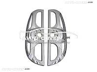 Накладки на задние фонари (стопы) Opel Combo 2012-... абс пластик 2 шт