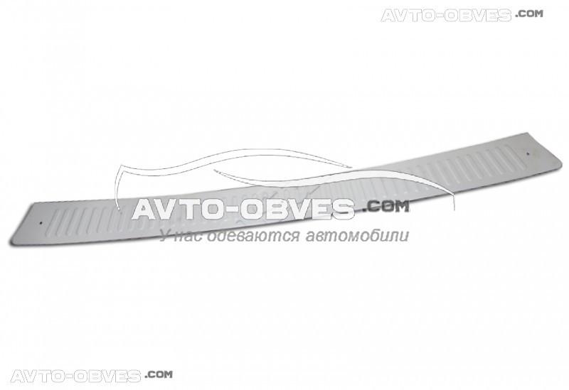 Накладки на задний бампер Peugeot Partner, нержавейка