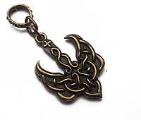 Кулон «Тризуб, Візантійський», бронза, трезубец, герб Украины
