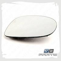 Стекло зеркала правого Volkswagen, Audi, Skoda 5N0857522