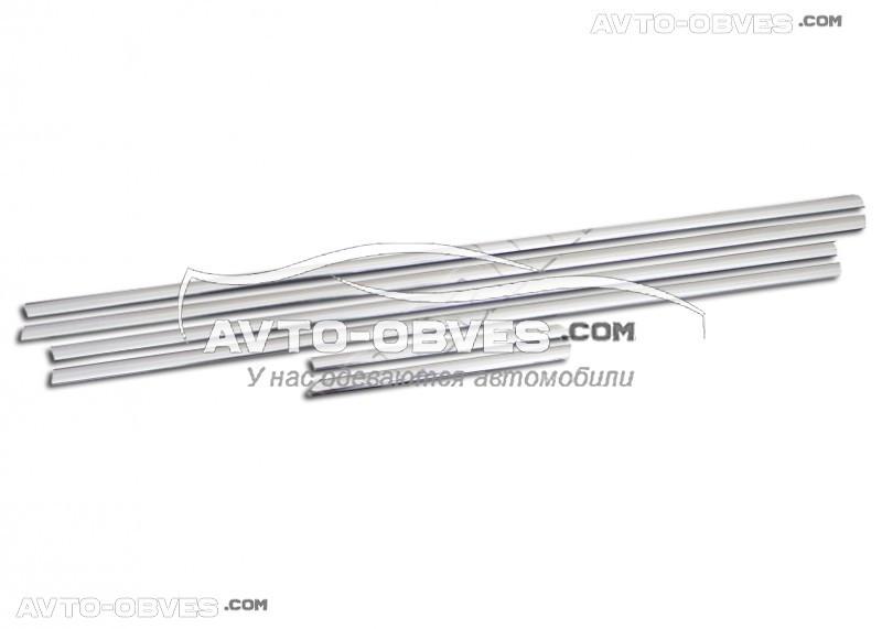 Окантовка вікон Chevrolet Captiva (6 елем.)