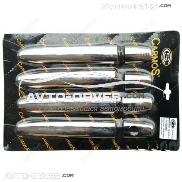 Накладки на ручки открывания дверей Mitsubishi Lancer X