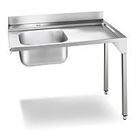 Стол Smeg WT02L для посудомоечной машины