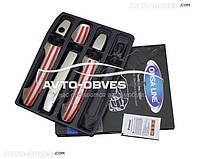 Накладки на дверные ручки для Mercedes Vito / V-class, 3 шт (под ключ)