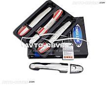 Накладки на ручки відкривання дверей для Мерседес Віано 639 4 шт // вибір виробника