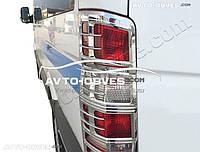 Накладки на задние фонари (стопы) для Mercedes-Benz Sprinter 2006-2013