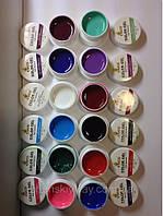 Набор матовых цветных гелей СОСО12 шт