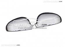 Накладки на зеркала заднего вида Passat B5 (2003-2005) нержавейка