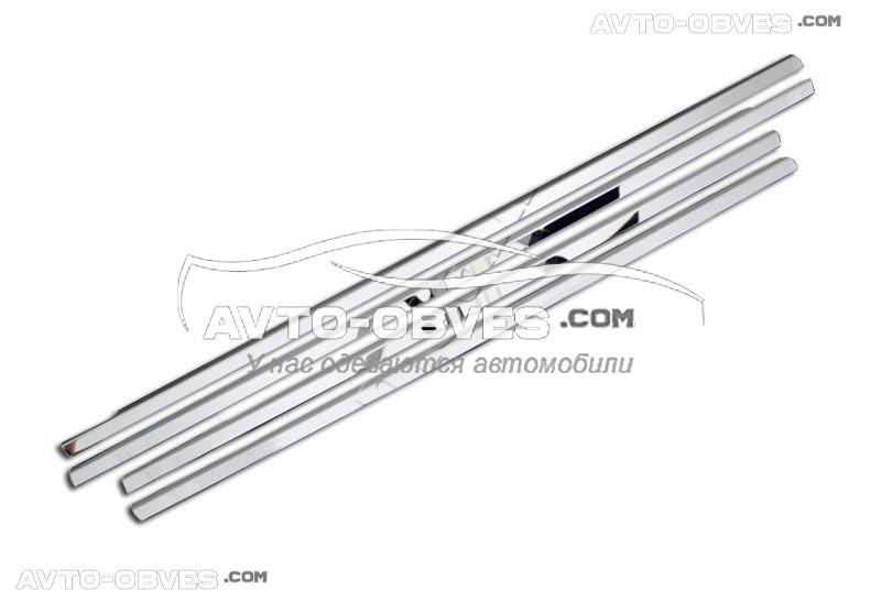 Окантовка стекол Hyundai Accent 2006-2011 нижняя Carmos