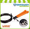 Скакалка скоростная с подшипниками liveup cable jumprope 2.9 м