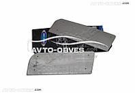 Хром накладки на внутренние пороги для Мерседес Спринтер 2 шт