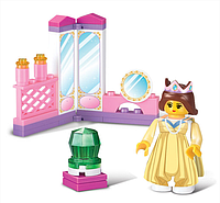 Конструктор SLUBAN «Розовая мечта» | «Трюмо принцессы»