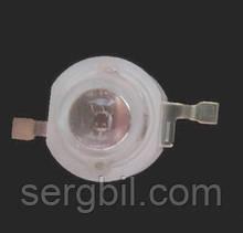 1Вт светодиод эмиттер красный фито 660нм 300мА 2,4В