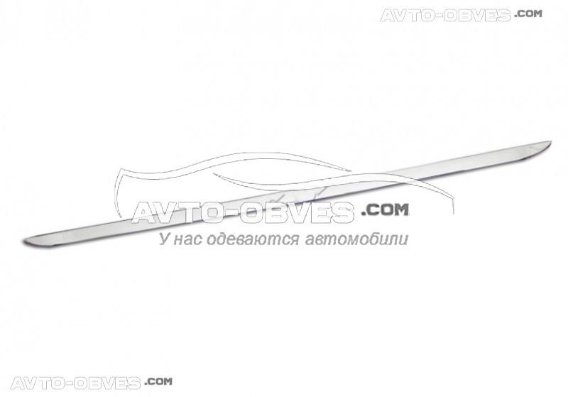 Накладка на нижнюю кромку багажника VolksWagen Jetta 2011-2016, нержавейка