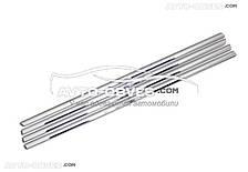 Окантовка вікон зовнішня для Мітсубіші Лансер X, нержавіюча сталь // вибір виробника