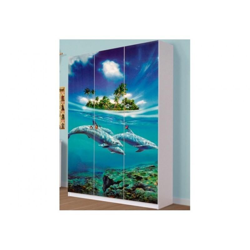 Шкаф 3Д Мульти Світ Меблів