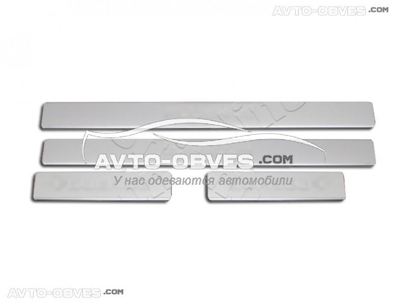 Hyundai Getz накладки на дверные пороги