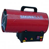 Газовая пушка SAKUMA SGA1401-30 (тепловая мощность 30кВт, 220В, сжиженный пропан-бутан) (шт.)