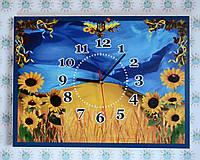 Часы настенные в украинском стиле