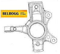 Кулак поворотный передний правый с ABS BYD F0, Бид Ф0, Бід Ф0
