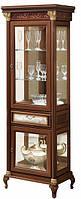 Венеция витрина 1-но дверная (Скай) 79х227х49