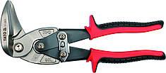 YATO Ножиці по металу вигнуті лівосторонні, l=225мм