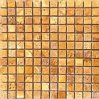 Мраморная мозаика Veromar желтый травертин