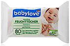 Детские влажные салфетки Babylove Feuckttucher Sensitive - 80 шт.