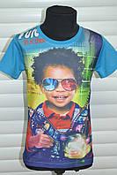 Трикотажные футболки для мальчиков,Размеры 1-5,Фирма S&D.Венгрия