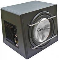 Сабвуфер корпусной Kicx ICQ-301ВPA активный (15317)
