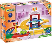 Детский конструкток-гараж с дорогой 3,4 м Kid Cars Wader(вадер) 53020