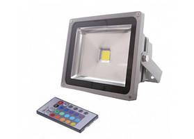 LED прожектор RGB LEDEX 50W TL11716 (с ДУ) IP65