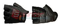 Перчатки для тяжёлой атлетики без пальцев S (гладкая кожа)