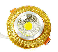 LED светильник декоративный LEDEX COB light 6W RGB Gold 4000K