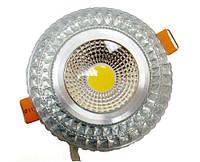 LED светильник декоративный LEDEX COB light 6W RGB silver 3000K