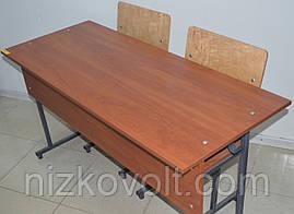 Парта школьная (стол ученический) двухместная