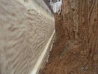 Термо-гидроизоляция, утепление напыляемым пенополиуретаном цокольных этажей