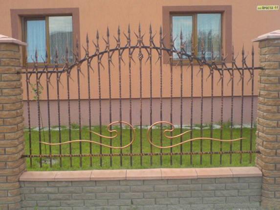 Заборы кованые Курьер, Курьер плюс, фото 2