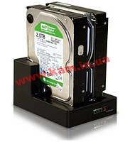 "Док-станция для жесткого диска 2.5""/ 3.5"" USB3.0 Maiwo K3092-U3S Black SATA"