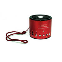 Портативная bluetooth колонка MP3 плеер WS-Q9 red